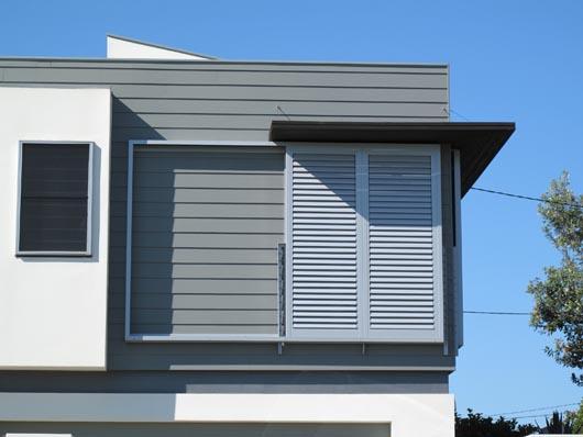 Seabreeze windows windows lovures plantation shutters - Aluminum window shutters exterior ...